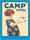 CAMP COFFEE DADDY LIKES IT (Postkarte)