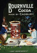 Post Card  Bournville Cocoa