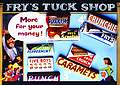 Post Card  Frys Tuck Shop
