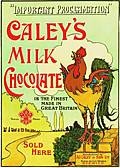 CALEY`S COCKEREL POSTCARD