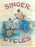 SINGER CYCLES (Carte Postale)