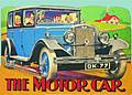 THE MOTOR CAR POSTCARD