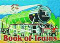 BOOK OF TRAINS POSTCARD