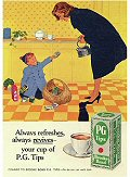 Postcard - PG Tips (Always Refreshes)