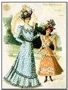 FASHION 1898 POSTCARD