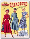 FASHION 1940s POSTCARD