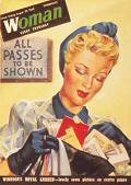 1940s ALL PASSES (Postkarte)