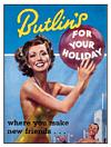 BUTLINS POSTCARD