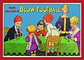 BLOW FOOTBALL POSTCARD