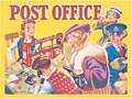 THE POST OFFICE (Postkarte)