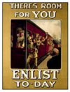 Carte Postale - ENLIST TODAY POSTCARD