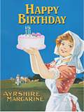 HAPPY BIRTHDAY CAKE (Carte Postale)