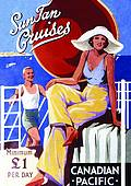 (Carte Postale)  Sun Tan Cruises
