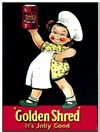 Golden Shred - Mabel Lucie Attwell (Postkarte)