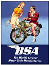 BSA COUPLE POSTCARD