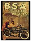 BSA MAP POSTCARD