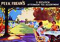 Post Card  Peek Frean`s 5 0 `clock
