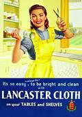 Postkarte - Post Card  Lancaster Cloth