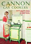 (Postkarte)  Cannon Gas Cooker