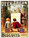PEEK FREAN BOYS POSTCARD