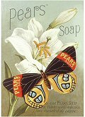 Postcard - Pears` Soap (Butterfly)