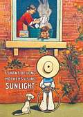 SUNLIGHT SHAN`T BE LONG POSTCARD