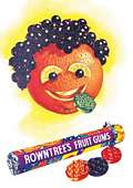 ROWNTREES POSTCARD