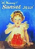 SUNSET JELLY POSTCARD