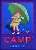 CAMP COFFEE (Carte Postale)