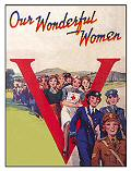 WONDERFUL WOMEN POSTCARD