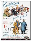 RAF KNITTING POSTCARD