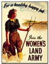 Women�s Land Army (Carte Postale)