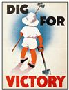Dig For Victory (Carte Postale)
