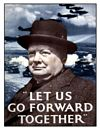 CHURCHILL POSTCARD