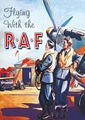 FLYING WITH RAF POSTCARD