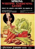 Wartime Gardening Guide Postcard