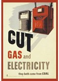 Cut Gas & Electricity (Postkarte)