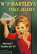 HARTLEY`S JELLIES POSTCARD