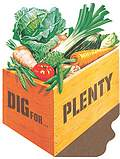 Dig For Plenty Postcard