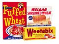 Puffed Wheat Selection