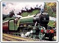 FLYING SCOTSMAN FRIDGE MAGNET