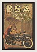 BSA FRIDGE MAGNET