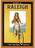 Magnet - Raleigh (All Steel Bicycle)