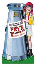 FRY`S LARGE SHAPED STEEL SIGN