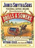 DRILLS & SOWERS STEEL SIGN