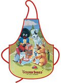 Golden Shred Golly Picnic Cotton Apron
