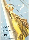 Postcard - 1935 Summer Cruises