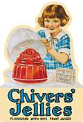 CHIVERS SHAPED FRIDGE MAGNET