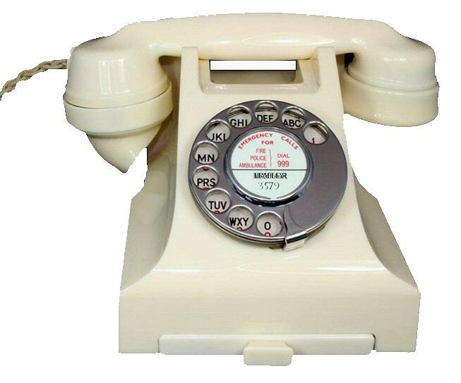 bakelite telephones description