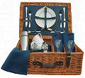Ascot Picnic Hamper (2 Place Settings, Warwick Blue)